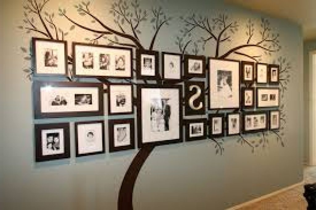 Family Photo Wall Art Within Famous Frame Wall Art Design Ideas Tree Frame Decoration Family Wall Art (View 6 of 15)