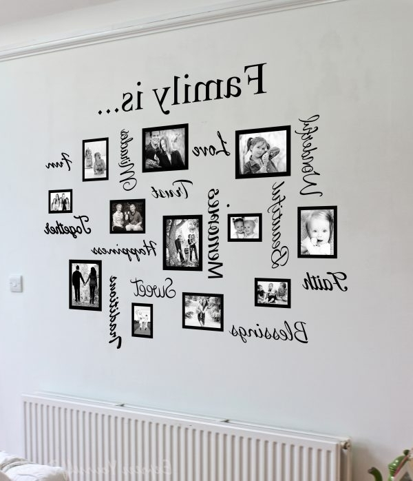 Family Wall Art Spectacular Family Wall Art – Wall Decoration And In 2018 Family Photo Wall Art (View 13 of 15)