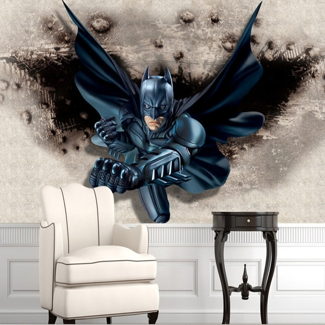Featured Photo of Batman 3D Wall Art