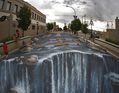 Famous 3D Wall Art Illusions Within 76 Unbelievable Street And Wall Art Illusions (View 2 of 15)