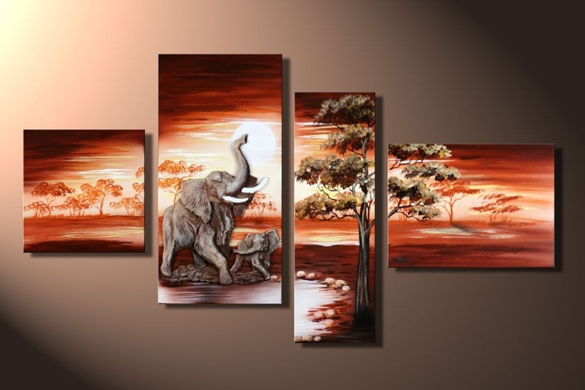 Famous 4 Piece Canvas Art Sets With Regard To Extremely Ideas 3 Piece Canvas Wall Art Sets Decoration Framed Set (View 13 of 15)