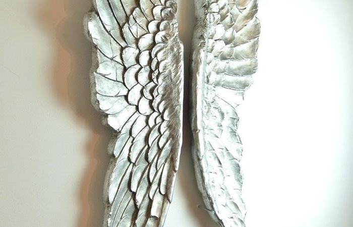Famous Angel Wings Sculpture Plaque Wall Art In Angel Wings Wall Art Sculpture Plaque (View 9 of 15)