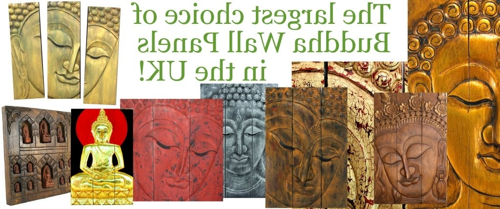 Famous Buddha Statues And Ornaments, Wooden Buddha Wall Art Panels And With Buddha Wooden Wall Art (View 15 of 15)