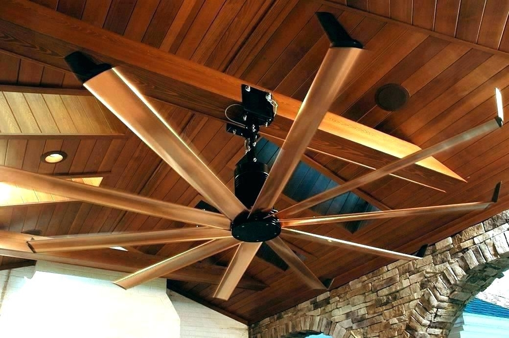 Famous Ceiling Fan Blades – Foliasg Intended For Outdoor Ceiling Fans For Barns (View 15 of 15)