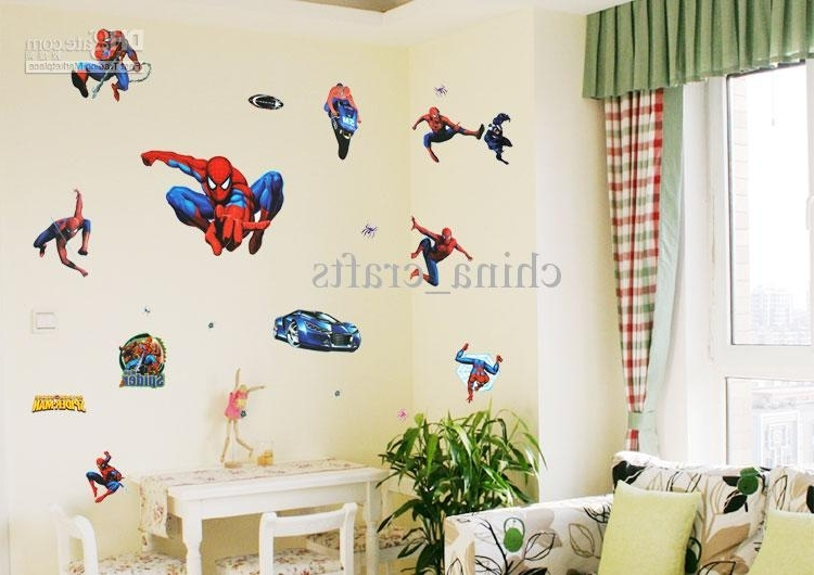 Famous Childrens Bedroom Wall Stickers Removable (View 3 of 15)