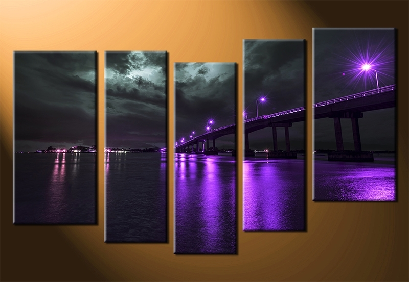 Famous Cityscape Canvas Wall Art Intended For Wall Art Designs: Astounding Example Of Cityscape Canvas Wall Art (View 9 of 15)
