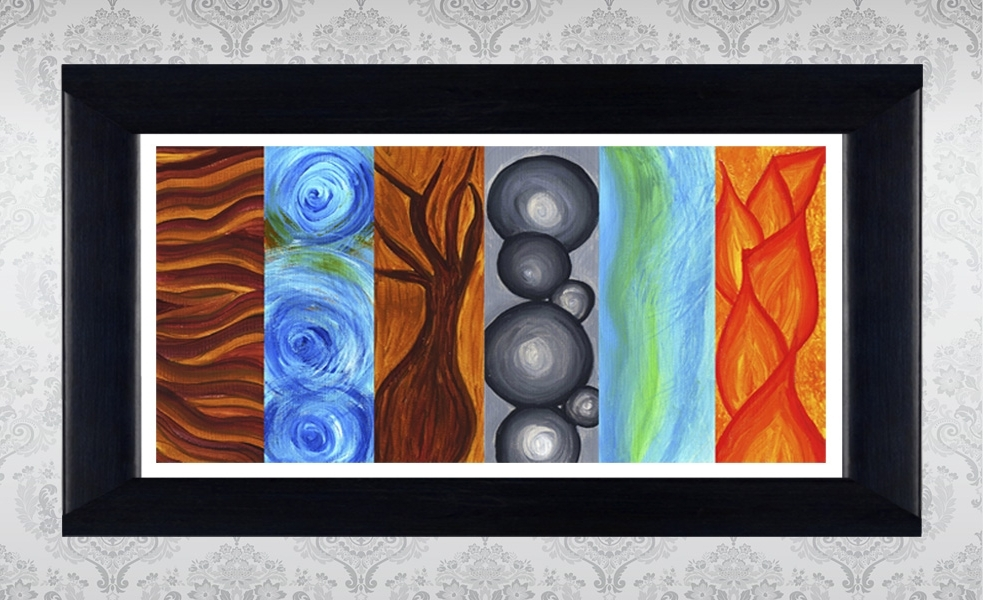 Famous Elements Wall Art With Printable Wall Art Poster Diy – Nature Elements On Luulla (View 7 of 15)