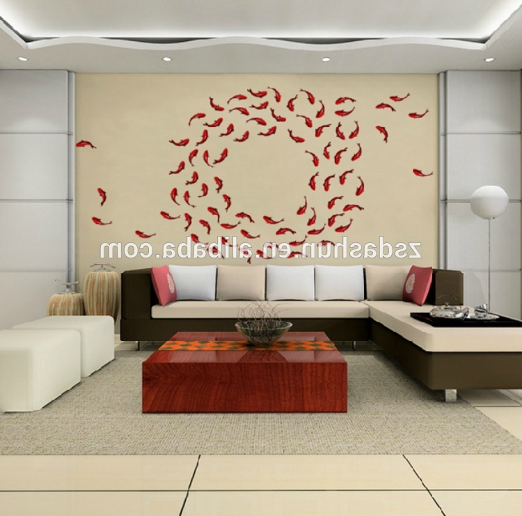 Famous Fish 3D Wall Art In China Fish Decor Wholesale ?? – Alibaba (View 11 of 15)