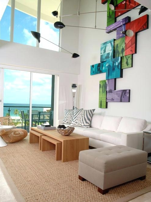 Famous Houzz Abstract Wall Art Throughout Houzz Wall Art Interior Stretched Fabric Wall Art Four Pieces (View 11 of 15)