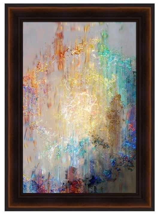Famous Large Framed Abstract Wall Art In Wall Art Designs Large Framed Abstract Painting White Flowering (View 3 of 15)