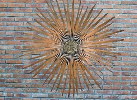 Famous Large Metal Wall Art Outdoor Large Outside Wall Art Classy Large Throughout Metal Large Outdoor Wall Art (View 1 of 15)