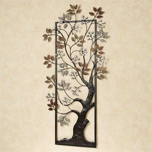 Famous Metal Wall Art Trees And Branches For Metal Tree Wall Art Beautiful Sun Kissed Branches Metal Tree Wall (View 4 of 15)