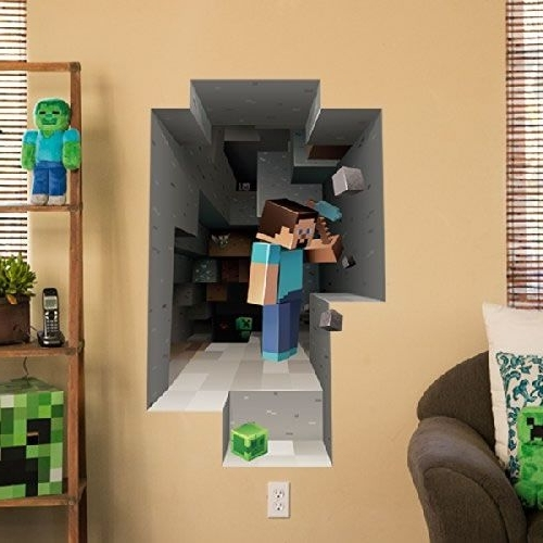 Featured Photo of Minecraft 3D Wall Art