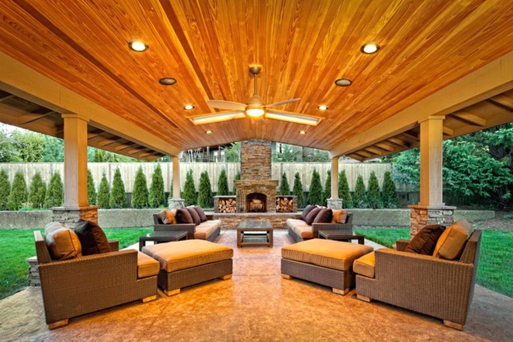 Famous Outdoor Ceiling Fans For Patios Intended For Outdoor Ceiling Fan With Light Kit Image Of Patio Outdoor Ceiling (View 5 of 15)