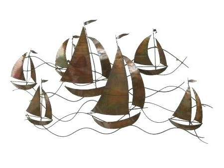 Famous Sailboat Metal Wall Art Wall Art Designs Metal Sailboat Wall Art Regarding Metal Sailboat Wall Art (View 4 of 15)