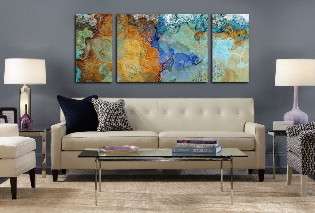 Famous Sofa Size Wall Art Regarding Sofa Ideas (View 2 of 15)