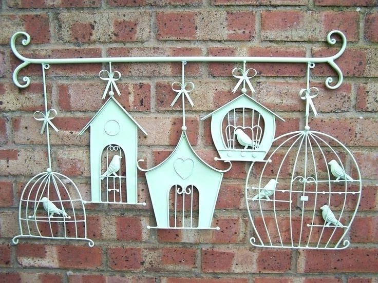 Famous Stainless Steel Outdoor Wall Art Cute Birds Ribbon Stainless Steel Intended For Stainless Steel Outdoor Wall Art (View 6 of 15)