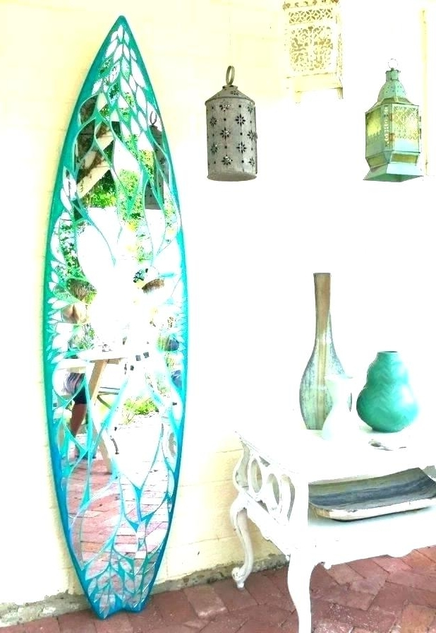 Famous Surfboard Wall Decoration Surfboard Decor Decorative Surfboard Wall Throughout Decorative Surfboard Wall Art (View 14 of 15)