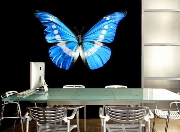 Famous Vinyl 3D Wall Art Throughout Butterfly 3D Wall Art Stickers, Vinyl 3D Wall Stickers – Interior (View 4 of 15)