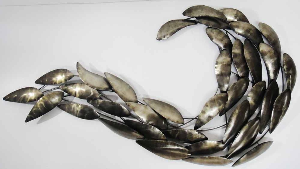 Famous Wall Art Ideas Design : Product Brands Metal Wall Art Fish Premium Inside Shoal Of Fish Metal Wall Art (View 10 of 15)