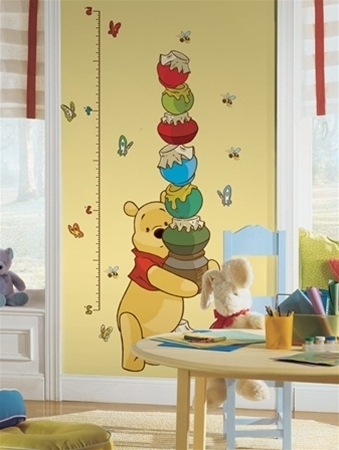 Famous Winnie The Pooh Wall Decals For Kids Rooms – Peel And Stick Winnie Intended For Winnie The Pooh Wall Decor (View 9 of 15)