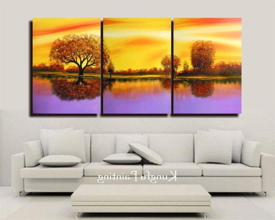 Famous X Cute 3 Panel Wall Art – Home Design And Wall Decoration Ideas Within Three Panel Wall Art (View 6 of 15)