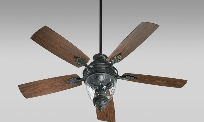 Fan Light Combo Made From Old Windmill (View 4 of 15)