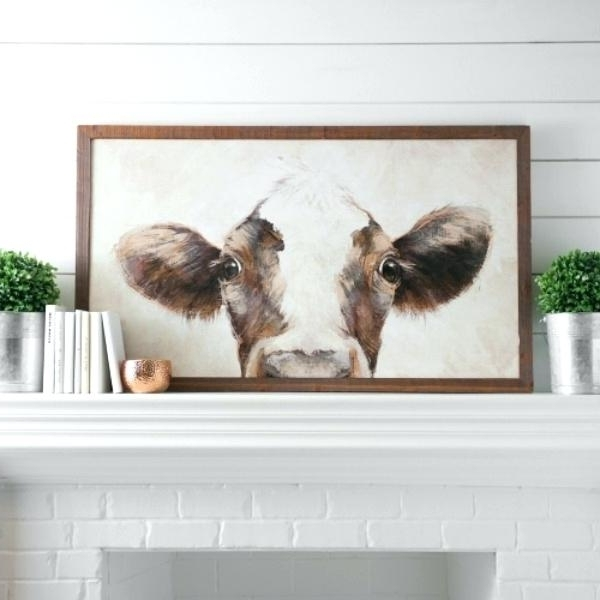 Farmhouse Wall Art In Well Known Farmhouse Decor Wall Art Farmhouse Wall Art Cow Art Print Farm Decor (View 5 of 15)