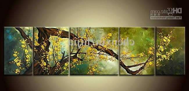 Fashionable 2018 Hot Sales!pieces Large Modern Abstract Art Oil Painting Wall Within Abstract Art Wall Hangings (View 9 of 15)
