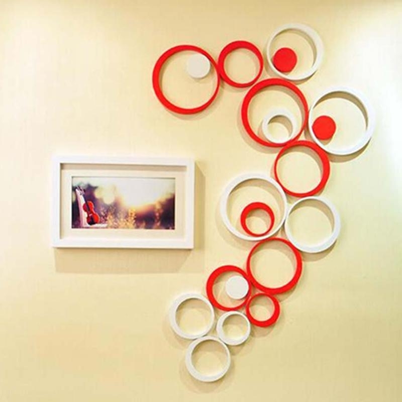 Fashionable 3D Circle Wall Art Within Metal Candle Holder Wall Art Circle Wall Decor Lovely Round Metal (View 4 of 15)