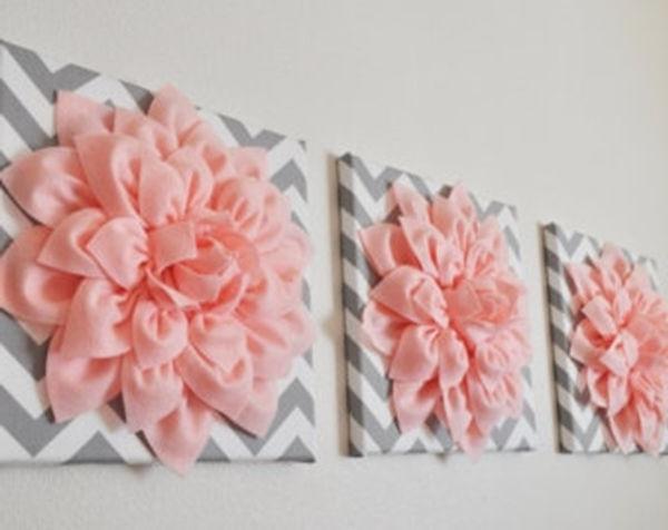 Featured Photo of 3D Flower Wall Art