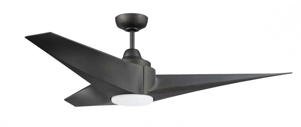"Fashionable 54"" Ceiling Fan W/dc Motor, Blades, Led Light Kit : 9Ra9A (View 6 of 15)"