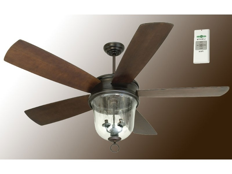 Featured Photo of 60 Inch Outdoor Ceiling Fans With Lights