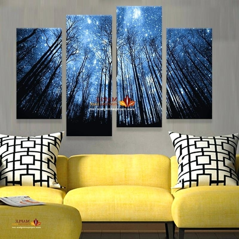 Fashionable Abstract Wall Art Living Room Inside Modern Abstract Wall Art Ideas For Black And White Huge Oil Painting (View 10 of 15)