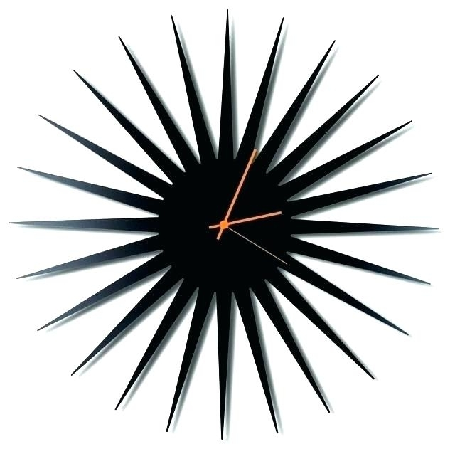 Fashionable Abstract Wall Art With Clock Pertaining To Abstract Wall Clocks Abstract Wall Art With Clock Abstract Wall (View 11 of 15)