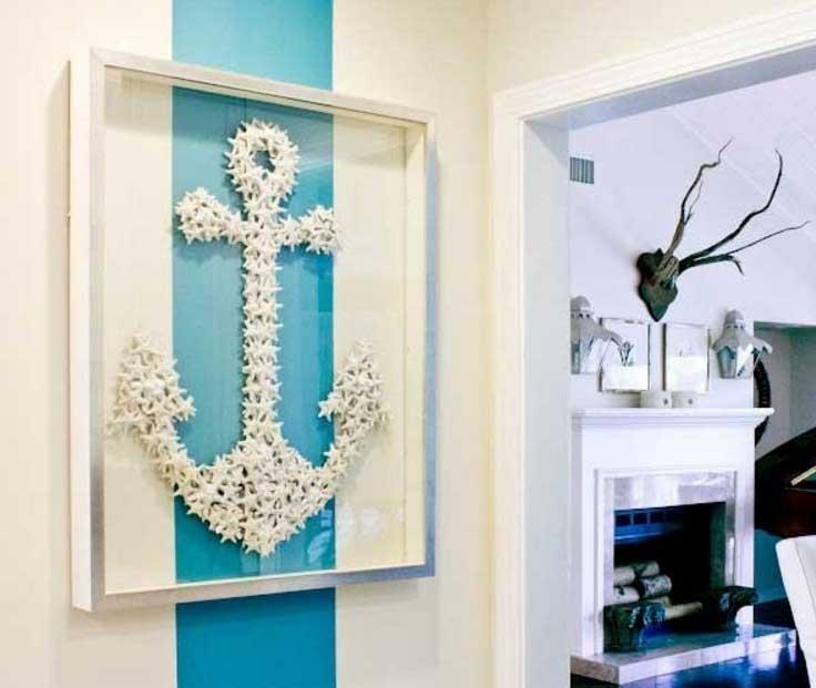 Fashionable Beach Themed Wall Decor Diy With Frame Home Interior, Beach Themed Regarding Beach Theme Wall Art (View 3 of 15)