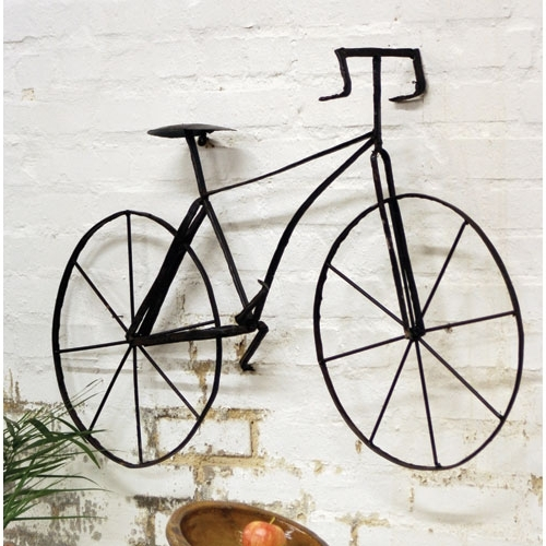 Fashionable Bike Wall Art – Cajole Within Bicycle Metal Wall Art (View 12 of 15)