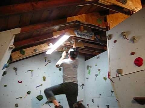 Fashionable Building A Rock Climbing Wall In The Garage – Part 2 – Wall Junkies With Home Bouldering Wall Design (View 8 of 15)