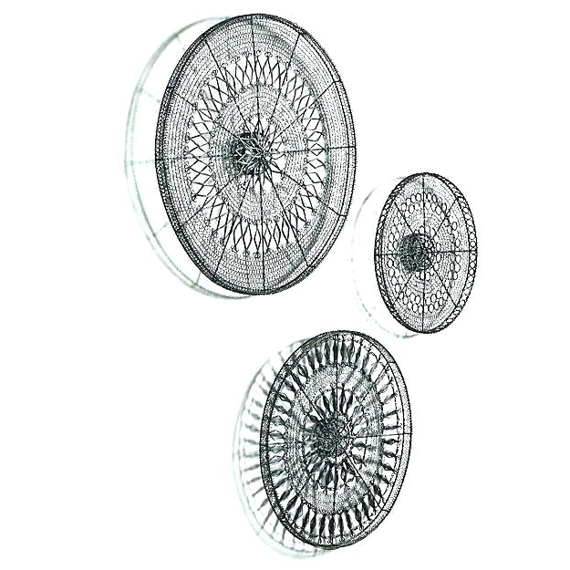 Fashionable Circles Metal Wall Art – Chastaintavern (View 14 of 15)