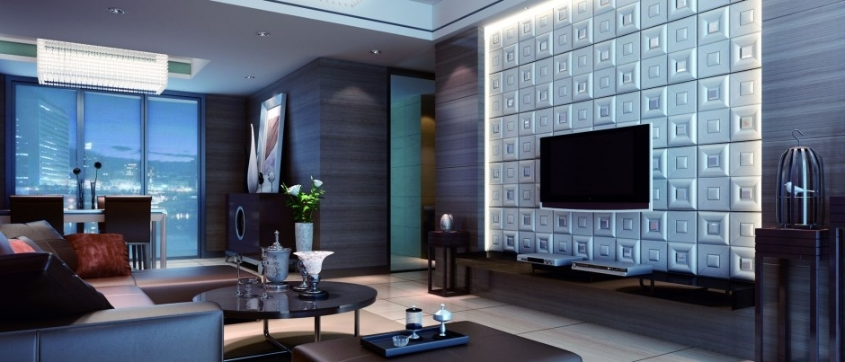 Fashionable Contemporary 3D Wall Art (View 9 of 15)