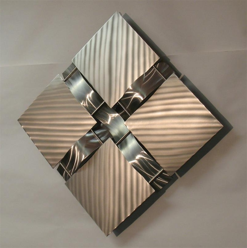 Fashionable Contemporary Metal Wall Sculpture — All Contemporary Design : Modern With Regard To Contemporary Metal Wall Art Sculpture (View 14 of 15)