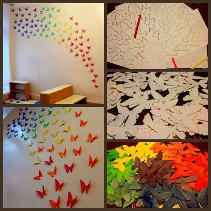 Fashionable Diy 3D Paper Wall Art In  (View 9 of 15)