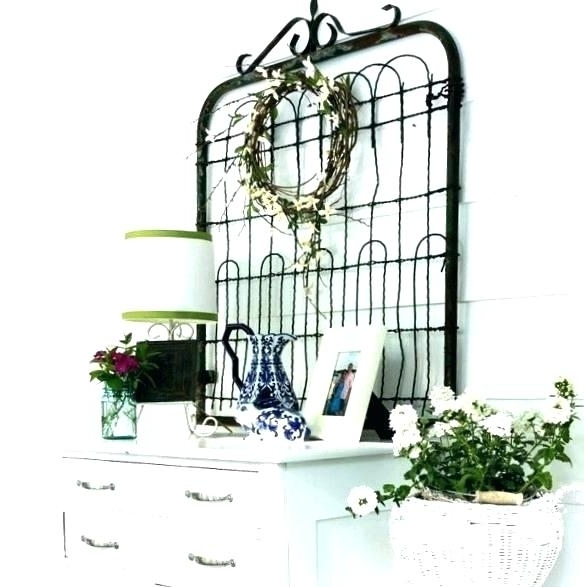 Fashionable Gate Wall Decor Vintage Gate Wall Decor Wall Gate Decor Awesome Within Metal Gate Wall Art (View 2 of 15)