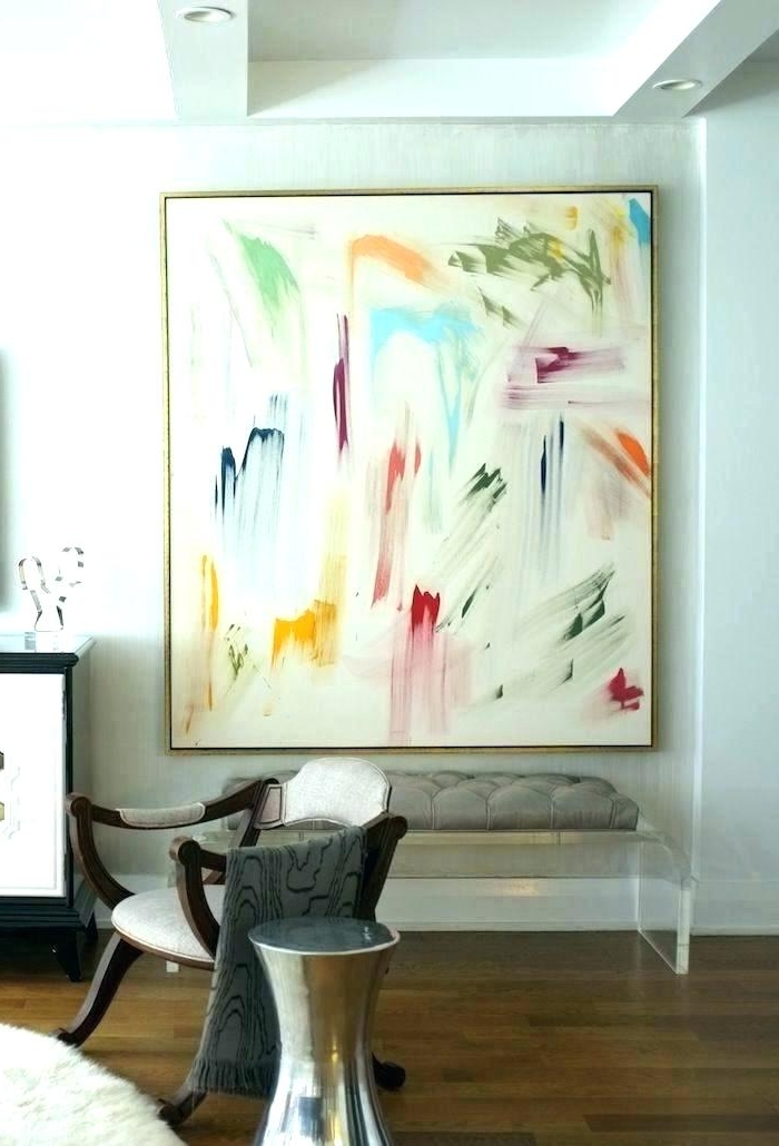 Fashionable Huge Abstract Wall Art Large Abstract Art On Canvas Large Art Prints Pertaining To Oversized Abstract Wall Art (View 2 of 15)