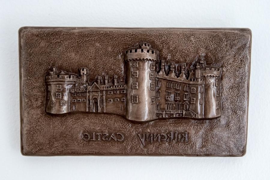 Fashionable Ireland Metal Wall Art Regarding Kilkenny Castle Irish Bronze Wall Art – The Irish Workshop (View 10 of 15)