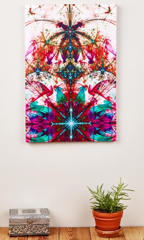 Fashionable Kaleidoscope Wall Art In Ivan Puello (Ivanpuello1) On Pinterest (View 4 of 15)