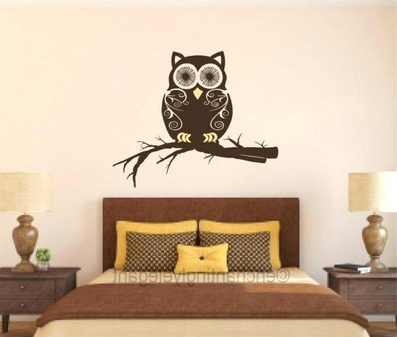 Fashionable Kohls Wall Art Decals Gallery Owl Wall Decals Kids Room Decor In Kohls Wall Art Decals (View 15 of 15)