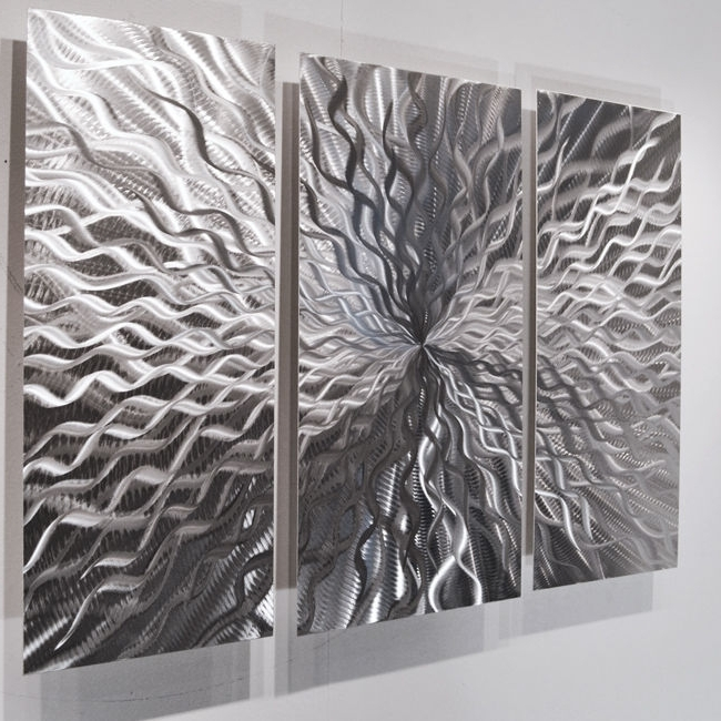 Fashionable Large Abstract Metal Wall Art Within Large Abstract Metal Wall Art Modern Abstract Metal Wall Sculpture (View 4 of 15)