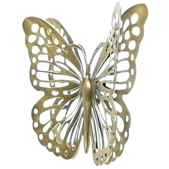 Fashionable Large Metal Butterfly Wall Art Outdoor Metal Butterfly Wall Art Within Large Metal Butterfly Wall Art (View 2 of 15)