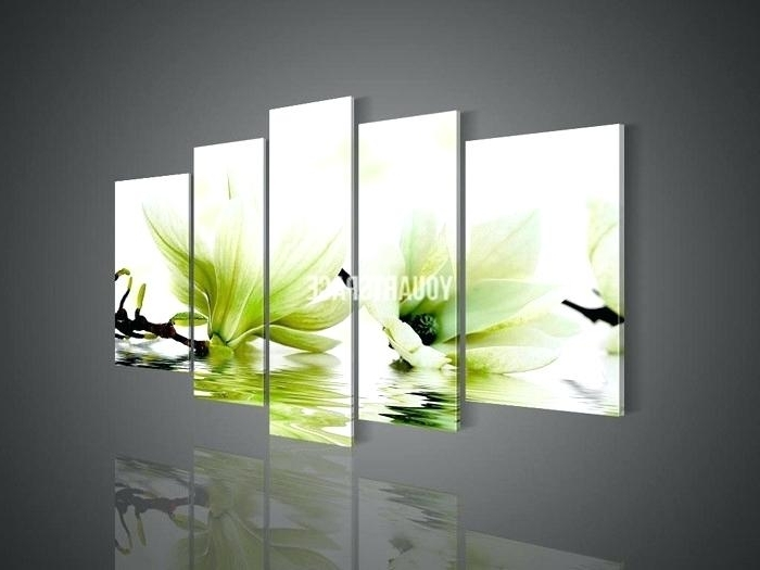 Fashionable Lime Green Abstract Wall Art With Regard To Lime Green Wall Art Green Wall Art Canvas Panel Wall Art No Framed (View 6 of 15)